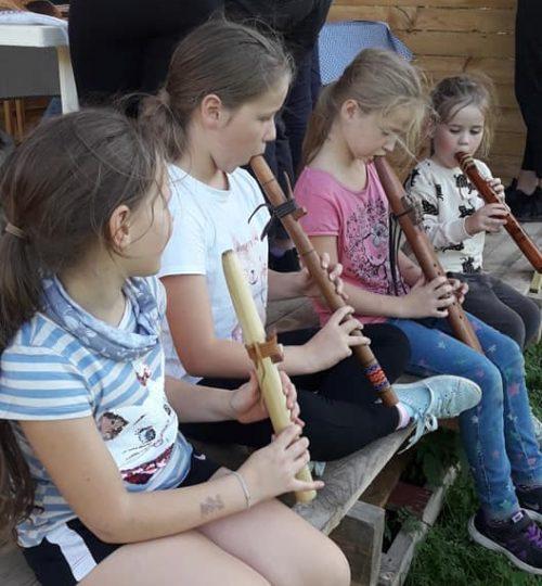 Bērni&flautas